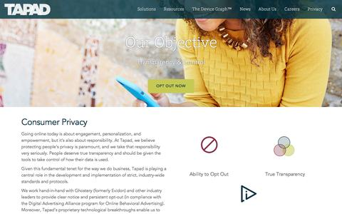 Cross-Device Privacy | Tapad