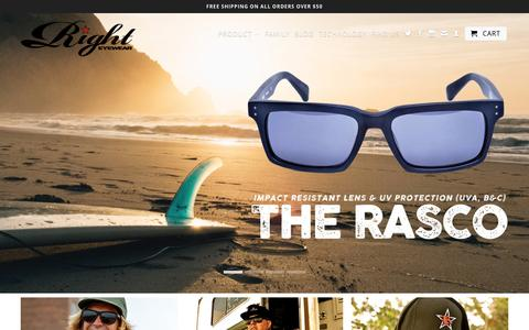 Right Eyewear - Sunglasses and Apparel - Costa Mesa, California