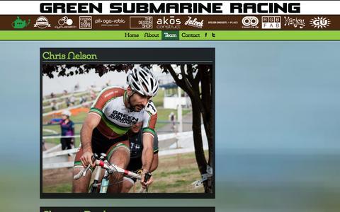 Screenshot of Team Page greensubmarinerecords.com - Meet the Subs - Green Submarine Records - captured Sept. 30, 2014