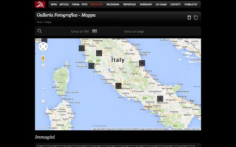 Screenshot of Maps & Directions Page zmphoto.it - Galleria Fotografica - Mappa - ZMPHOTO - captured Sept. 23, 2014