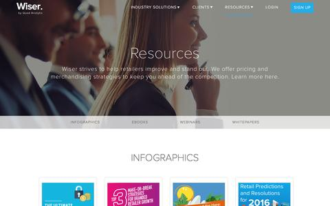 eCommerce Resources | Wiser, a Quad Analytix Company
