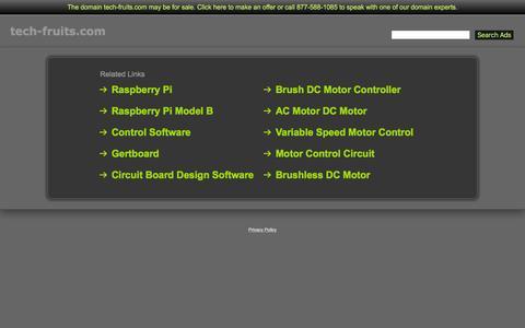 Screenshot of Home Page tech-fruits.com - Tech-Fruits.com - captured Feb. 22, 2016