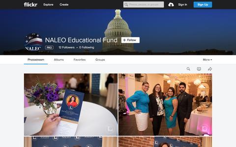 Screenshot of Flickr Page flickr.com - NALEO Educational Fund | Flickr - Photo Sharing! - captured Oct. 2, 2015