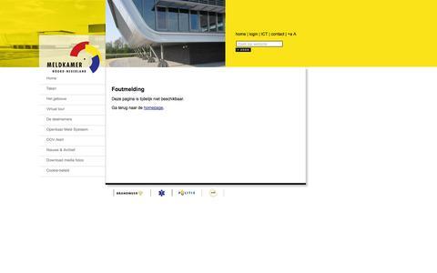 Screenshot of Login Page mknn.nl - Extranet - captured Oct. 27, 2014