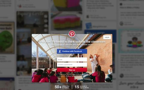 Screenshot of Home Page pinterest.com - Pinterest: Discover and save creative ideas - captured Feb. 24, 2016