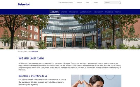 Beiersdorf – About Us