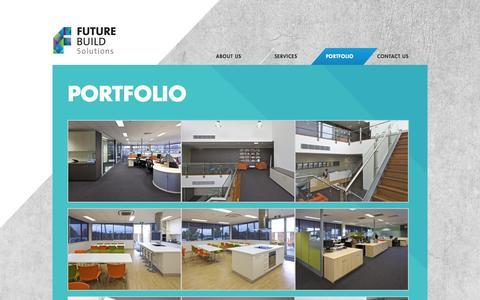 Screenshot of Case Studies Page futurebuild.com - FutureBuild - Building & Construction Solutions - captured Sept. 30, 2014