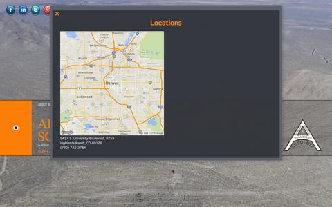 Screenshot of Locations Page ab-cs.com - Locations | Absolute Boundary & Control Solutions - captured Feb. 5, 2016