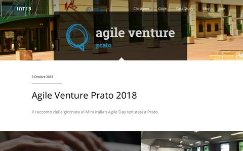 Screenshot of Blog intre.it - Intré srl - captured Oct. 12, 2018