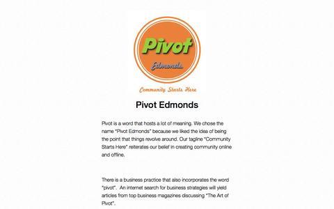 Screenshot of Team Page pivotedmonds.com - Pivot Edmonds - captured Sept. 30, 2014