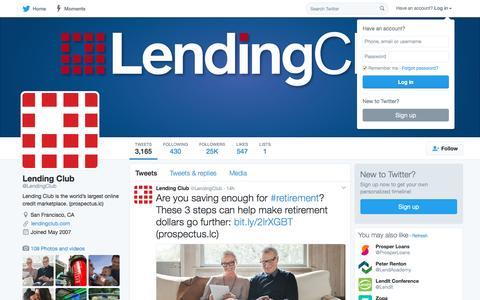 Lending Club (@LendingClub) | Twitter