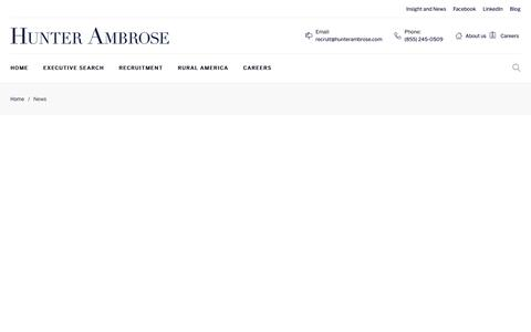 Screenshot of Press Page hunterambrose.com - News – Hunterambrose - captured Sept. 30, 2018