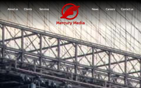 Screenshot of Services Page mercurymedia.com - Services | Direct Response Marketing | CPA Marketing | Mercury Media - captured Dec. 11, 2015
