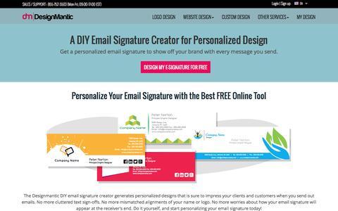 DIY Email Signature Design Creator | Designmantic.com