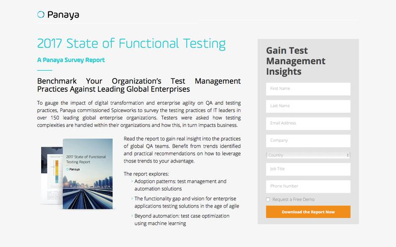 State of Functional Testing 2017