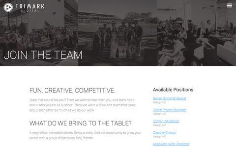 TriMark Digital Jobs - Discover Your Next Career - TriMark Digital