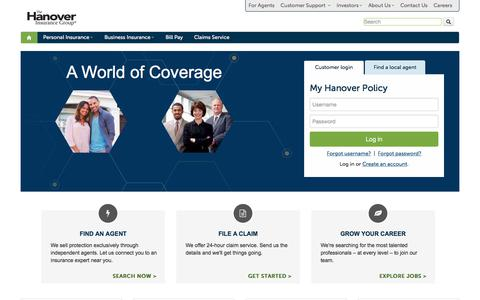 Auto, Home and Business Insurance from The Hanover Insurance Group, Inc.