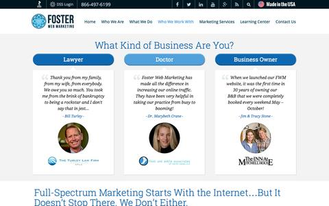 Small Business Web Marketing That Converts More Customers | Foster Web Marketing