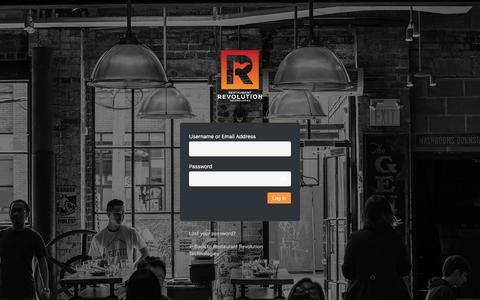 Screenshot of Login Page rrtusa.com - Log In ‹ Restaurant Revolution Technologies — WordPress - captured Nov. 14, 2019