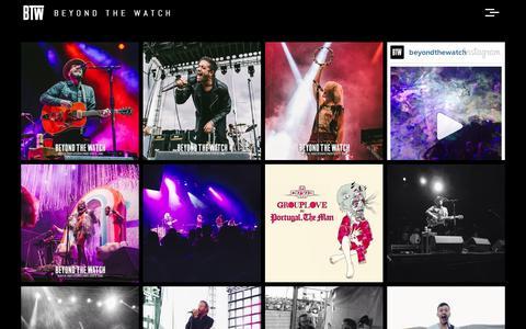 Screenshot of Blog tumblr.com - Beyond The Watch - captured Sept. 11, 2014