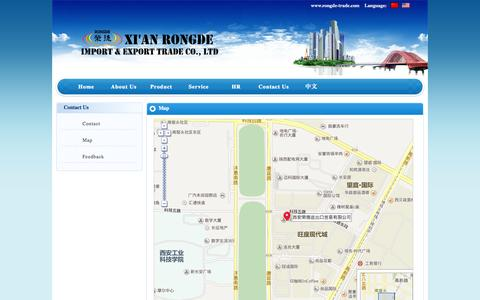 Screenshot of Maps & Directions Page rongde-trade.com - Natural Herb Extract Supplier - captured Oct. 7, 2014