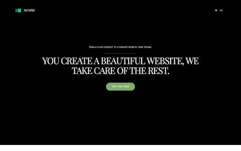 Screenshot of Landing Page imcreator.com - Design - IM Creator white label - captured Sept. 27, 2016