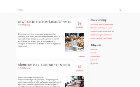 Screenshot of Home Page photoshop-overblik.dk - photoshop-overblik.dk - captured June 11, 2016