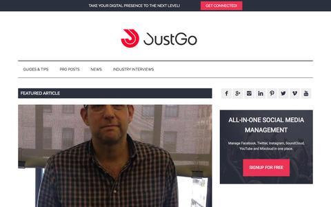 Screenshot of Blog justgo.com - JustGo blog – All-in-one social media audience management - captured Sept. 7, 2015