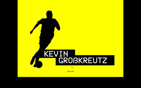 Screenshot of Home Page kevin-grosskreutz.de - Kevin Großkreutz - captured Oct. 10, 2015