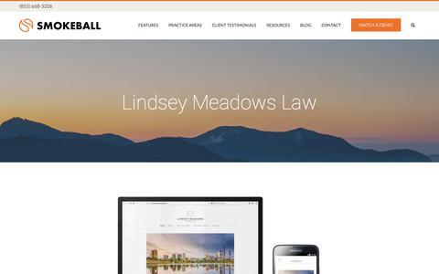 Lindsey Meadows Law - Smokeball