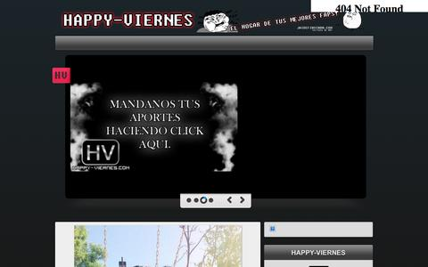 Screenshot of Home Page happy-viernes.com - HAPPY-VIERNES DE JAIDEFINICHON - captured Sept. 25, 2014