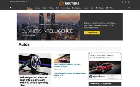 Autos | Reuters