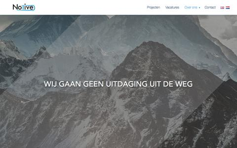 Screenshot of Team Page notive.nl - Het team | Notive - captured Jan. 11, 2016