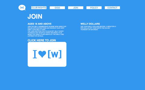 Screenshot of Signup Page giveitsomewelly.com - JOIN - captured Sept. 22, 2017