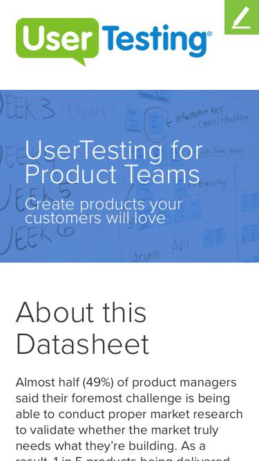 UserTesting for Product Teams