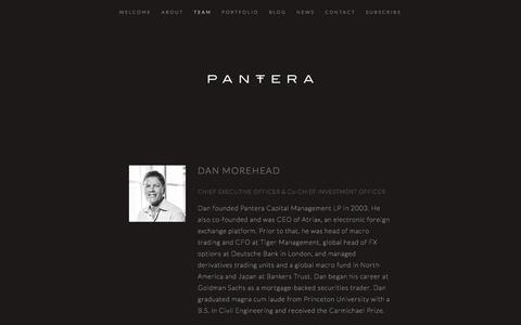 Screenshot of Team Page panteracapital.com - Team — Pantera Capital - captured Jan. 10, 2018