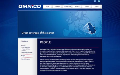 Screenshot of Team Page omnico.rs - Omnico - captured Oct. 26, 2014