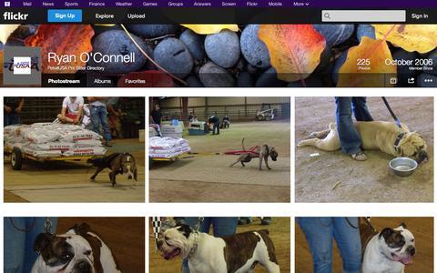 Screenshot of Flickr Page flickr.com - Flickr: PetsitUSA Pet Sitter Directory's Photostream - captured Nov. 2, 2014