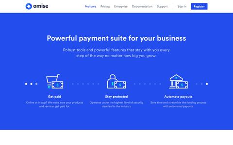 Omise: Features and Services