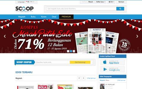 SCOOP Indonesia - Majalah Digital di iPad, iPhone, dan Android