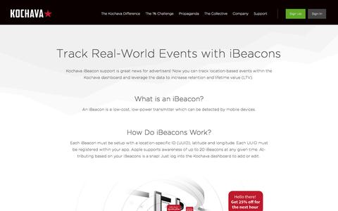 Track Real-World Events with iBeacons