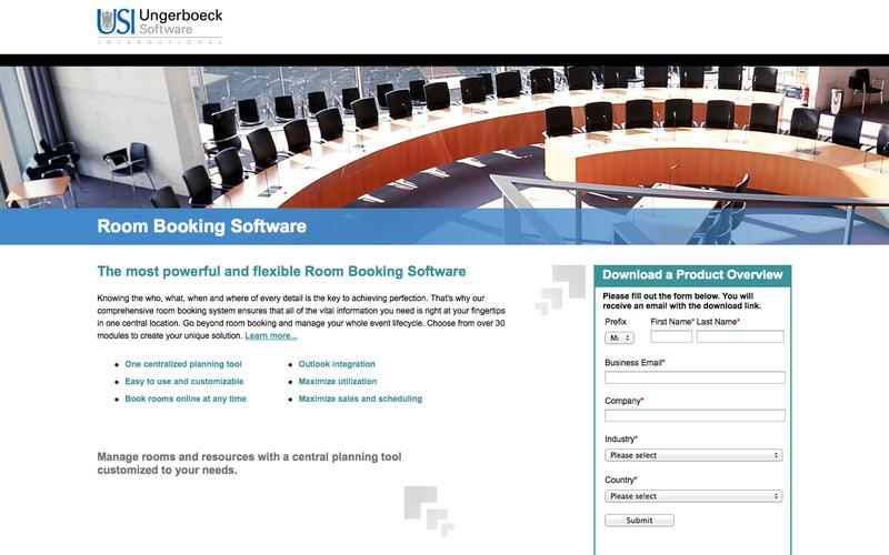Room Booking Software | Ungerboeck Software International