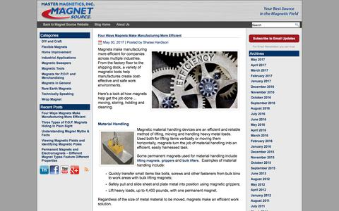 Polarity: Master Magnetics Blog | Technical applications and other interesting information about magnets.      Polarity: Master Magnetics Blog