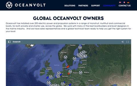 Screenshot of Maps & Directions Page oceanvolt.com - Oceanvolt - Global Owners Community - captured Oct. 20, 2018