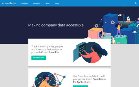 Making Company Data Accessible | Crunchbase