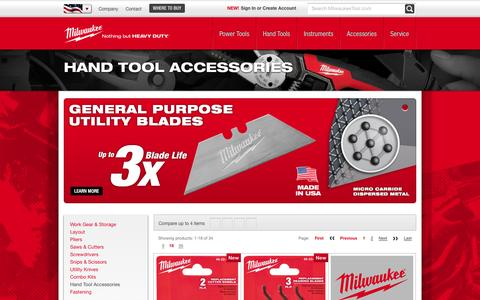 Hand Tool Accessories | Milwaukee Tool