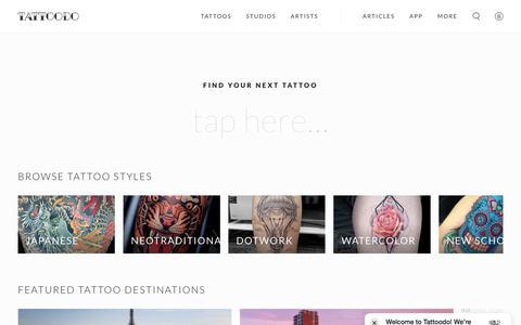 Tattoodo — Find Your Next Tattoo | Tattoodo