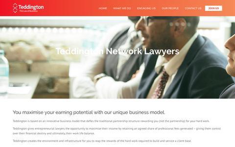 Join Us | Teddington Legal