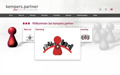 Screenshot of Home Page k-p-p.de - Startseite   - captured Oct. 16, 2018