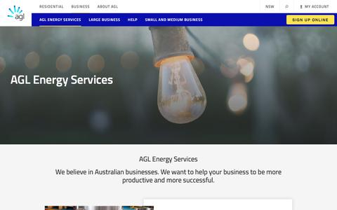AGL Energy Services for Businesses | Electricity Providers | AGL